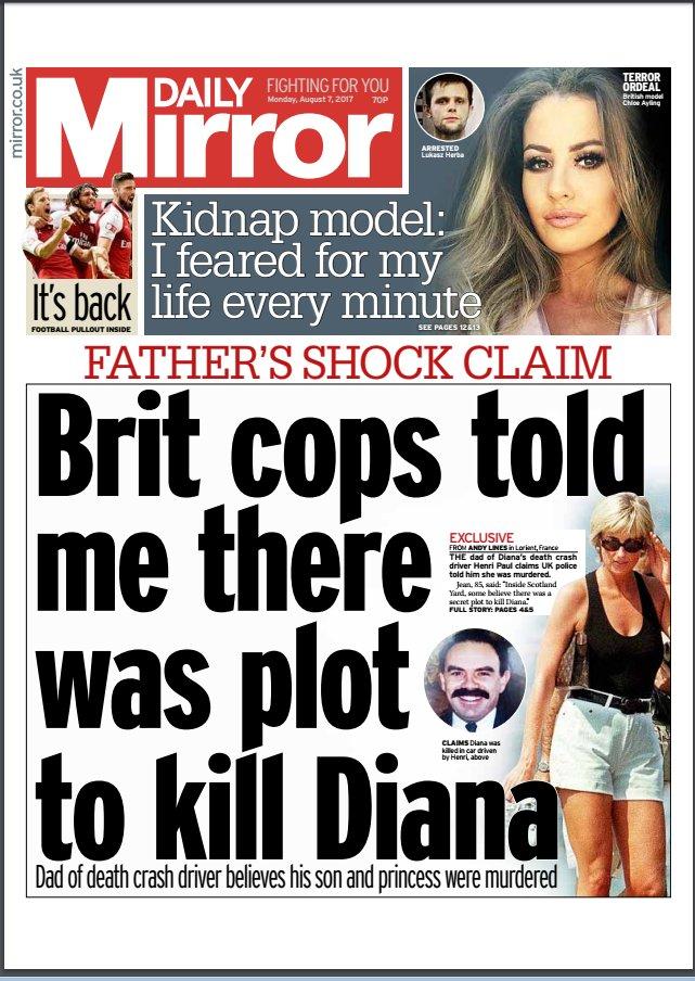 who killed Diana Spencer