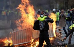 yellow vests in France